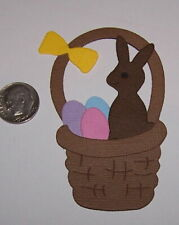 2 Easter Baskets Premade PAPER Die Cuts