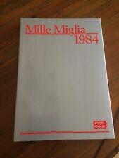 Mille Miglia 1984 a cura di M. W. Veteran car club di Brescia