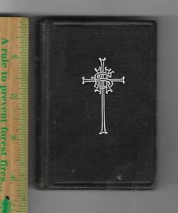 Episcopal BOOK OF COMMON PRAYER 1909 pocket size antique