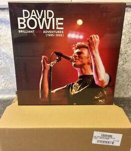 DAVID BOWIE BRILLIANT LIVE ADVENTURES LP VINYL BOX -  EMPTY BOX  ✅ IN HAND !!