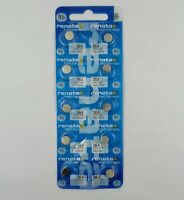 RENATA SWISS MADE 364 SR621SW  X 10 PCS WATCH BATTERIES  exp: 08/2022 or later