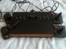 ATARI CX-2600 U VIDEO GAME CONSOLE 4 controllers and power supply - WORKING 1978