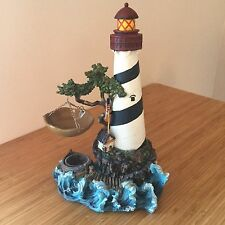 Yankee Candle Cape Lighthouse Hanging Tart Warmer Flag Boat Ocean Waves RARE