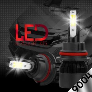 XENTEC LED HID Headlight kit 9004 HB1 6000K for 1992-1995 Toyota 4Runner