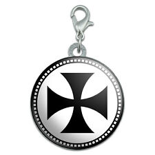 Iron Cross Stainless Steel Pet Dog ID Tag