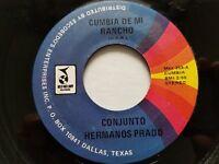 """CONJUNTO HERMANOS PRADO - Cumbia de Me Rancho RARE 1970's LATIN CUMBIA 7"""""""