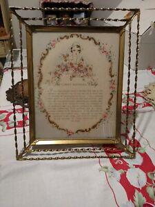 Vintage Hallmark Motto Print Florence Nightingale Pledge 1942