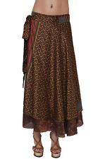 "Plus Size Lot Of 5 Pcs Wholesale Skirts Sari Magic Original Manufacturer 36"" XL"