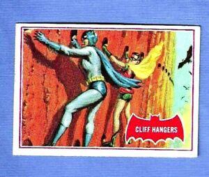 1966 TOPPS BATMAN RED BAT  #36A  CLIFF HANGERS   EXMINT / NRMINT