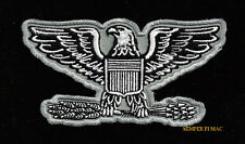COLONEL EAGLE HAT PATCH RANK SEAL PIN UP US AIR FORCE UNIFORM FLIGHTSUIT VETERAN