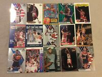 HALL OF FAME Basketball Card Lot 1991-2020 MICHAEL JORDAN STEPH CURRY JERRY WEST