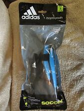 Adidas f50pro Youth Junior Style Hard Shield with Attached Ankle Sock- S (G 27)