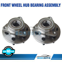 Pair Of 2 Front Wheel Hub Bearing Assembly Fits Dodge Dakota Durango 4WD 4X4
