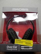 KOSS OVER EAR WIRED STEREO HEADPHONES ITEM#UR23IK