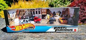 "2019 Hot Wheels FAST & FURIOUS Garage Set SIGNED by Chad Lindberg ""Jesse""!!"