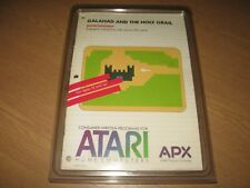 * Atari 400/800/XL/XE Disk - Galahad and the Holy Grail by APX - R8 - Superb! *