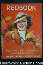 Redbook Oct 1935  Andrew Loomis cover