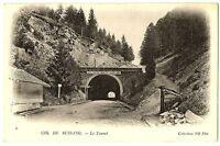 CPA 88 Vosges Col de Bussang Le tunnel