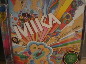CD.MIKA.DEBUT ALBUM.POP ROCK MUSIC.LIFE IN CARTOON MOTION.CASABLANCA RECORDS.