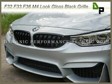M4 Look Gloss Black Front Grille For BMW F32 F33 F36 4-Series 2014-2017