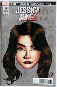 Jessica Jones #13 Headshot Variant - Marvel Comics - Brian M Bendis - M Gaydos