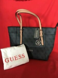 Guess Small Delaney Classic Tote Bag