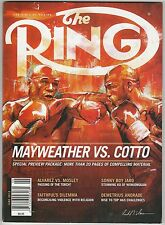 THE RING MAGAZINE FLOYD MAYWEATHER Jr-MIGUEL COTTO JUNE 2012