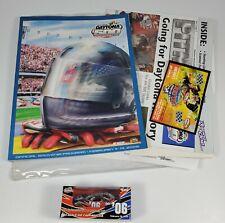 2006 Daytona 500 NASCAR 1:64 Diecast Car + Program and other souvenirs