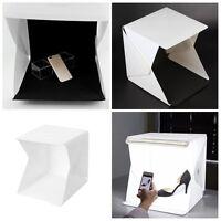 """16"""" Light Room Mini Photo Studio Photography Lighting Tent Kit Backdrop Cube Box"""