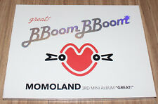 MOMOLAND GREAT! 3rd Mini Album K-POP CD + 2 PHOTOCARD SEALED