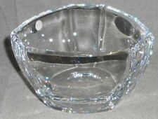 82107e1f1f0f Tiffany   Co SIGNED CRYSTAL BOWL Triangular Shape MADE IN ITALY