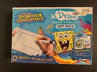 Nintendo Wii UDRAW Spongebob Squarepants Tablet Studio Bundle in Box