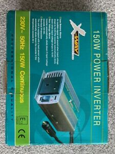 X-WAY 150W Power Inverter 661052 - New / Boxed