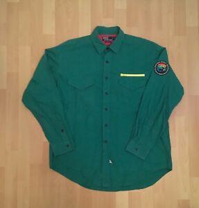 Vintage Ralph Lauren Polo Wildlife Sportsman Button Down Shirt 1992 Stadium