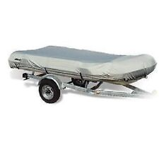 WAKE Dinghy Inflatable Boat Cover - Fits 9.5 ft. L x 60 in. Beam Width - Grey