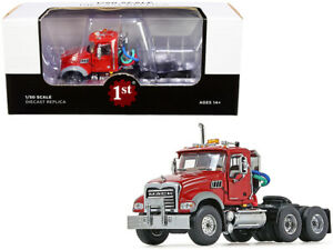 Mack Granite MP Engine Series Truck Tractor Red 1/50 Diecast Model by First Gear