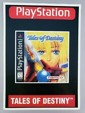 Tales of Destiny - Toys 'R' Us Display Card - PlayStation 1 PS1 - VidPro - RARE