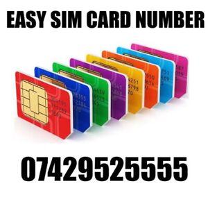 GOLD EASY VIP MEMORABLE MOBILE PHONE NUMBER DIAMOND PLATINUM SIMCARD 5555