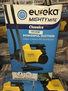 BONUS 6 FREE BAGS (8 bags total) Eureka Mighty Mite Canister Vacuum Cleaner