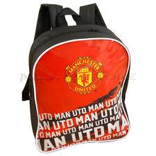 Manchester United Football FC Soccer Impact Team School Backpack Bag New Gift
