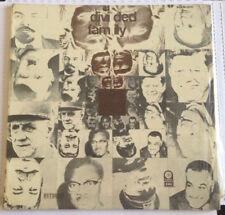 MANOLO DIAZ -A DIVIDED FAMILY- 1972 CENSORED MEXICAN LP, GATEFOLD VERY RARE HTF
