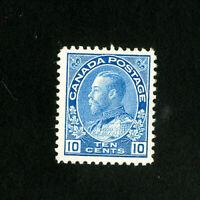 Canada Stamps # 117 XF OG LH Catalog Value $47.50