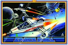 Space Duel reproduction arcade game poster