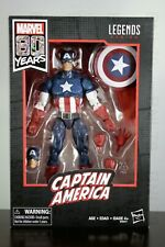 CAPTAIN AMERICA Marvel Legends 80th Anniversary 80 years yrs Walmart Exclusive