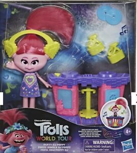 Hasbro DreamWorks Trolls World Tour Party DJ Poppy Fashion Doll