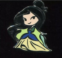 Cute Stylized Princesses Booster Set Mulan Disney Pin 119519