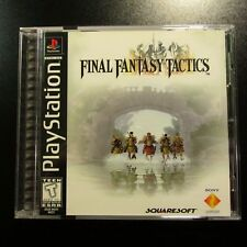 Final Fantasy Tactics PS1 Black Label PlayStation 2 3 4 NEW COMPLETE MINT