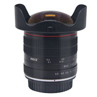 Meike 8mm f/3.5 Wide Angle Fisheye Lens for Canon DSLR Camera 6D 70D 80D 550D