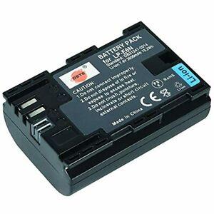 DSTE Rechargeable Li-ion Battery Compatible for Canon LP-E6N LP-E6NH LPE6N LP E6