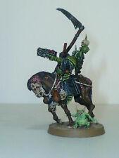 Warhammer Painted Sorcerer Knight & Horse Figurine